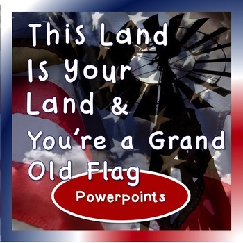 patriotic 5 song powerpoint bundle by janis aston tpt