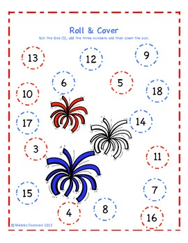 Patriotic Addition Roll and Cover