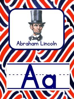 Patriotic Alphabet