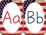 Patriotic Alphabet Cards
