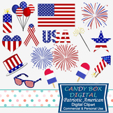Fourth of July Patriotic America Clip Art
