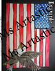 United States, American Flag Art Lesson