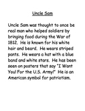 Patriotic American Symbols Stories