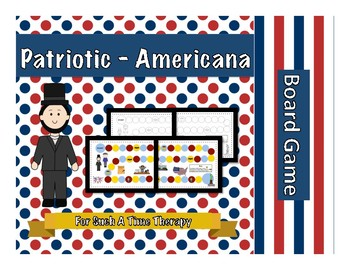 Patriotic Americana Board Game