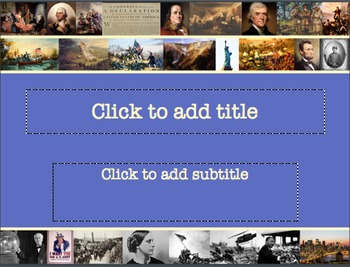 Patriotic Americana PowerPoint Template