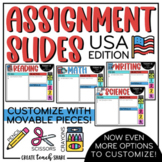 Patriotic Assignment Slides
