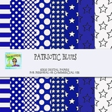 Patriotic Blues Digital Backgrounds