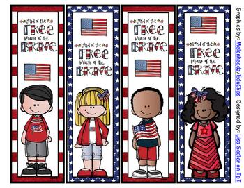 Patriotic Bookmarks
