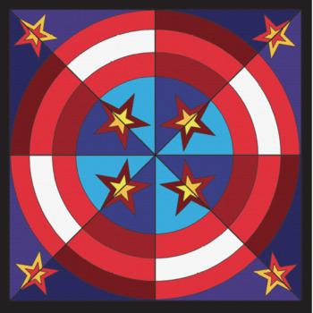 Patriotic Bundle - Collaborative Coloring Sheets -Veteran's Day, President's Day