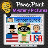 Patriotic Bundle Watch, Think, Color Games - EXPANDING BUNDLE