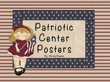 Patriotic Center Posters