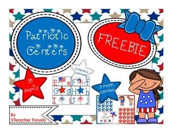 Patriotic Centers - Freebie