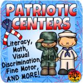 Patriotic Centers USA America Literacy Math Patriotic Activities Veterans