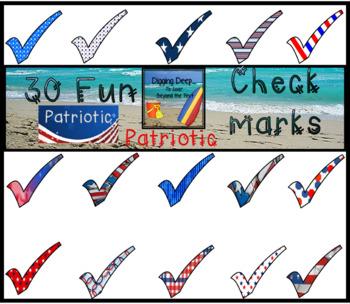 Patriotic Checkmarks
