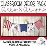 Patriotic Classroom Decorations