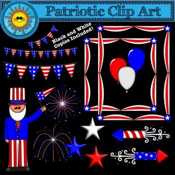 Patriotic Clip Art - USA