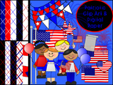 Patriotic Clip Art Bundle