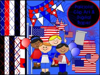 Patriotic Clip Art Bundle