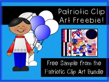 Patriotic Clip Art FREEBIE