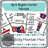 Patriotic Clip It Music Center