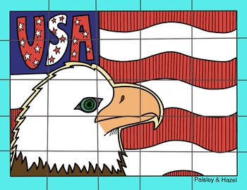 Veterans Day Activity- Patriotic Collaboration Poster