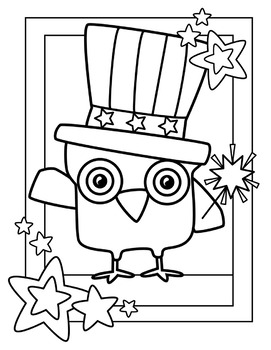 #kindnessnation Patriotic Coloring Pages