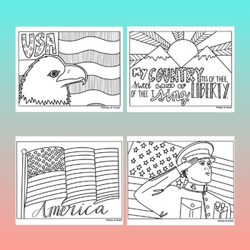 Veterans Day Activity- Coloring Pages