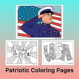 Labor Day Activity- Coloring Pages
