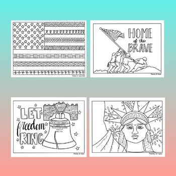 Veterans Day Activity- Coloring Pages by Paisley and Hazel ...