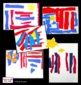Art Lesson - Patriotic Torn Paper Abstract Collage