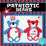 Memorial Day/ Flag Day Craft - Patriotic Bears