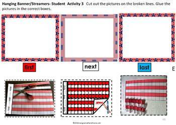 Patriotic Crafts for Learning with Sequencing & Critical Thinking Activities