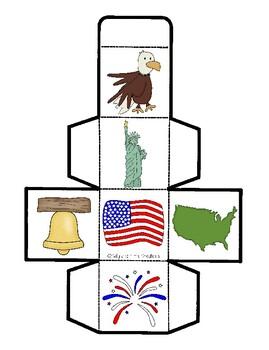 Patriotic Cube Game