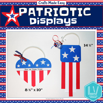 Patriotic Displays: Flag Crafts