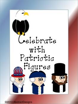 Patriotic Figure Cutouts