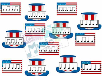 Fourth of July Rhythm Fly Swatter Game