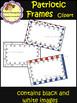 Patriotic Frames - Clip Art - President's Day (School Designhcf)