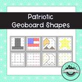 Patriotic Geoboard Task Cards