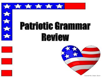 Patriotic Grammar Review