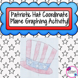 Patriotic Hat Coordinate Graphing Picture