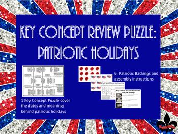 Patriotic Holiday Puzzle Freebie!
