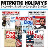 Patriotic Holidays Activities Bundle
