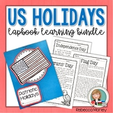 Patriotic Holidays Lapbook Learning Bundle