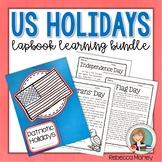 Patriotic Holidays Lapbook Learning Bundle