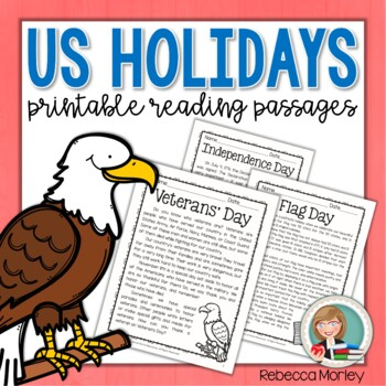 Patriotic Holidays Reading Passages