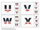American Symbols Alphabet Matching Summer School Special Education