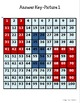 USA Hundreds Chart Hidden Picture Place Value Number Sense