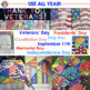 Patriotic Symbols Interactive Coloring Sheets w/Designs for September 11 (9/11)