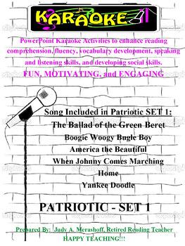 Patriotic Karaoke Set 1