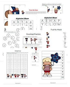 Patriotic Learning Activities for Early Years